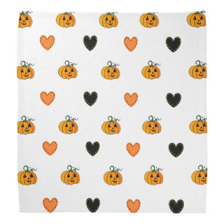 Bandana Citrouilles et bandanna mignons de Halloween de