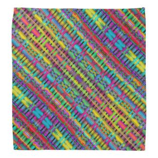 Bandana coloré de dessin géométrique