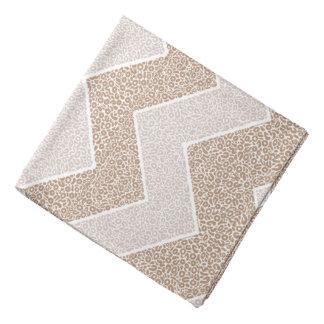 Bandana Conception géométrique de zigzag de motif de