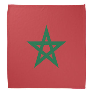 Bandana de drapeau du Maroc