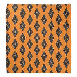 Bandana de Halloween - Jacquard orange