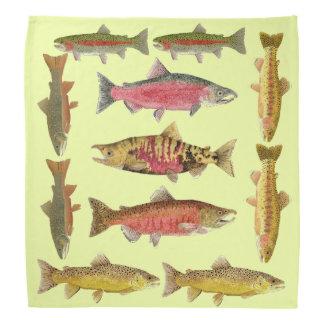 Bandana de truite et de saumon