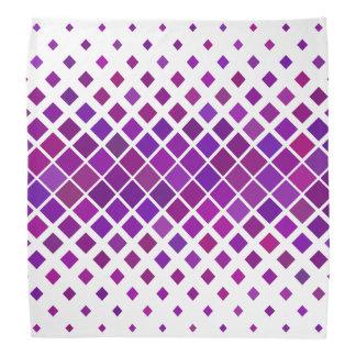 Bandana Diamants violets