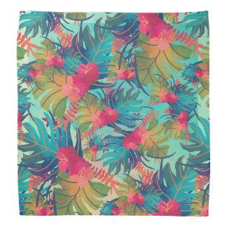 Bandana floral tropical de l'aquarelle |