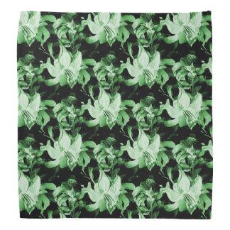 Bandana Floral vert