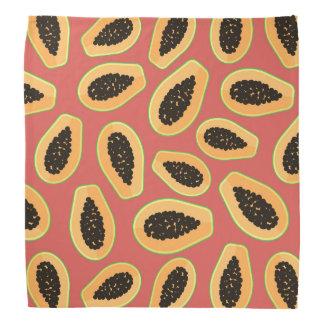 Bandana Fruit de papaye