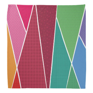 Bandana Géométrique et coloré
