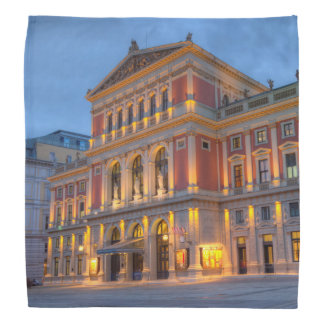 Bandana Grand hall de saucisse Musikverein, Vienne,