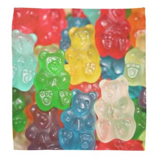 Bandana gummybears, sucrerie, colorée, amusement, enfants,