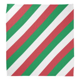 Bandana italien   Tricolore de drapeau de l'Italie