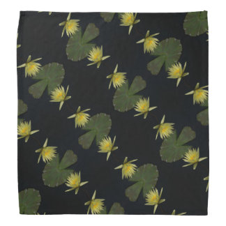 Bandana jaune de nénuphar de Lotus