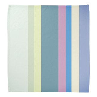 Bandana Jaune/gris multicolore/beige/rose/pourpre/bleu