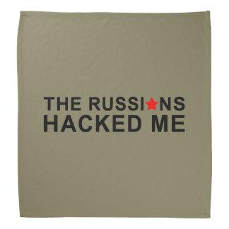 Bandana les Russes m'ont entaillé