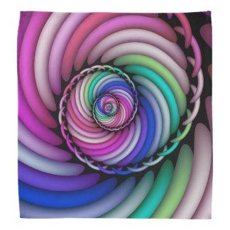 Bandana Magasin en spirale de sucrerie de fractale