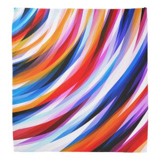Bandana Motif abstrait brillamment coloré