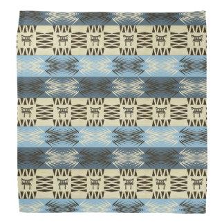 Bandana motif africain tribal ethnique