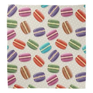Bandana Motif coloré de macarons