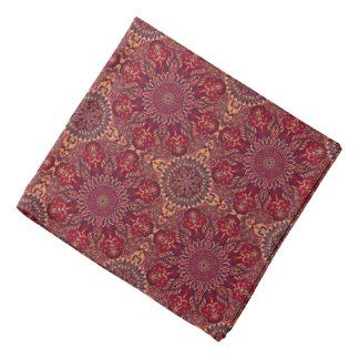 Bandana Motif floral ethnique abstrait coloré de mandala