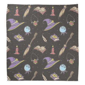Bandana Motif magique de Halloween de sorcière