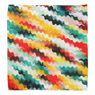Bandana Motif multicolore coloré