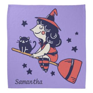 Bandana nommé fait sur commande de Halloween de