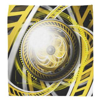 Bandana Oeil incroyable d'un robot de construction jaune