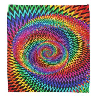 Bandana onduleux de couleurs