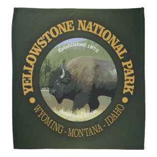 Bandana Parc national de Yellowstone (bison)