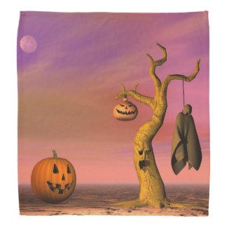 Bandana Paysage de Halloween