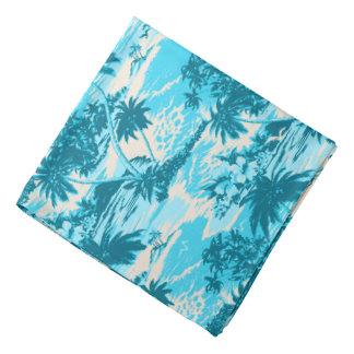Bandana pittoresque de chemise de Hawaïen de baie