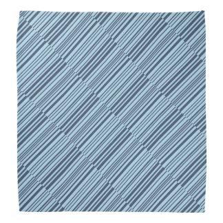 Bandana Rayures bleues terreuses