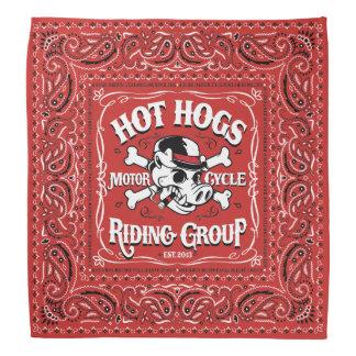Bandana rouge classique chaud de Hogs™