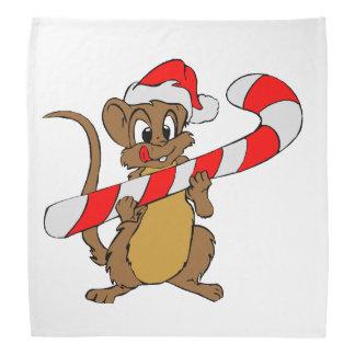 Bandana Souris avec du sucre de canne de Noël