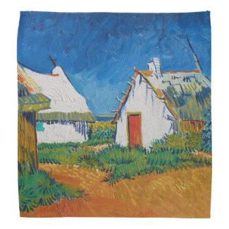 Bandana Trois cottages blancs dans Saintes-Maries par
