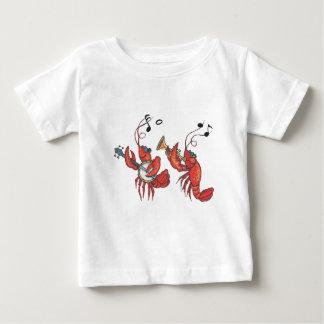 Bande 1.pdf d'écrevisses t-shirt pour bébé