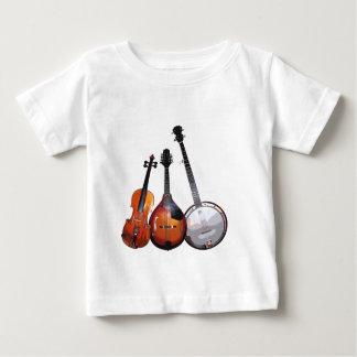 Bande de Bluegrass filtrée T-shirt Pour Bébé