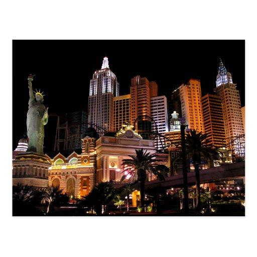 Bande de casino de Las Vegas, carte postale du Nev
