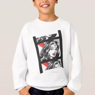 Bande de film de femme de merveille sweatshirt