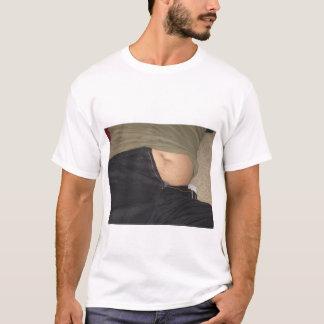 Bande de frottement de ventre t-shirt