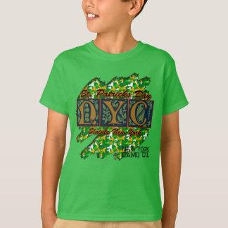 Bande de frottement T de Camo de St Pat des T-shirt