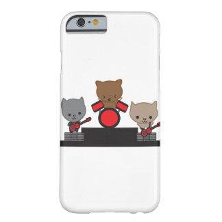 Bande de Kawaii de chat de Kitty Coque Barely There iPhone 6