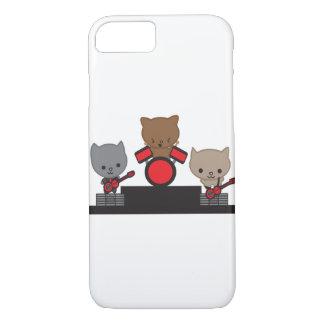 Bande de Kawaii de chat de Kitty Coque iPhone 7