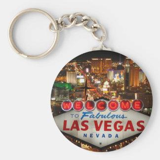 Bande de Las Vegas Porte-clé Rond
