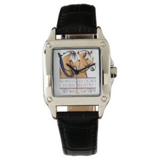 Bande de montre de cuir de la montre des femmes de