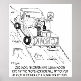 Bande dessinée 0040 de camion poster