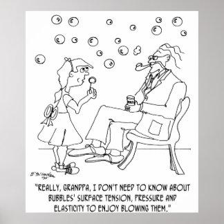 Bande dessinée 0619 de bulle poster