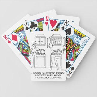 Bande dessinée 0676 de cuisine jeu de cartes