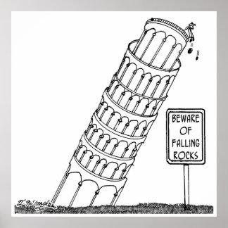 Bande dessinée 0958 de Galilée Poster