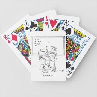 Bande dessinée 1465 de coiffure jeu de cartes