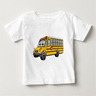 Bande dessinée 2017 d'autobus scolaire t-shirt pour bébé